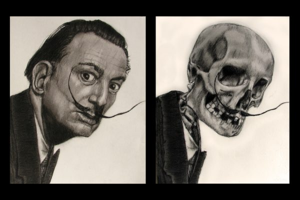 14. Salvador Dali before and afterlife